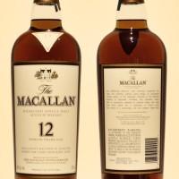 the macallan 12 year bottle vintage